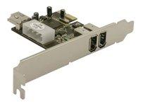 Delock PCIe Card FireWire A 2 + 1 Port